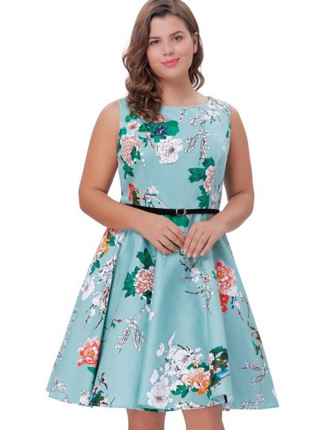 plus-size-arabella-vintage-tea-dress