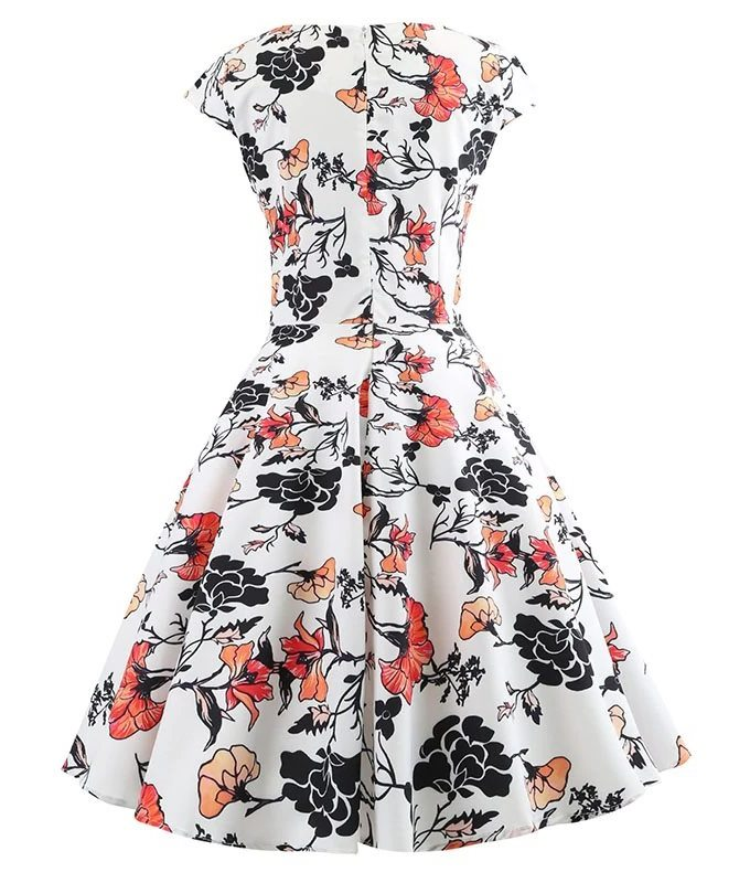 orange-splash-retro-floral-dress