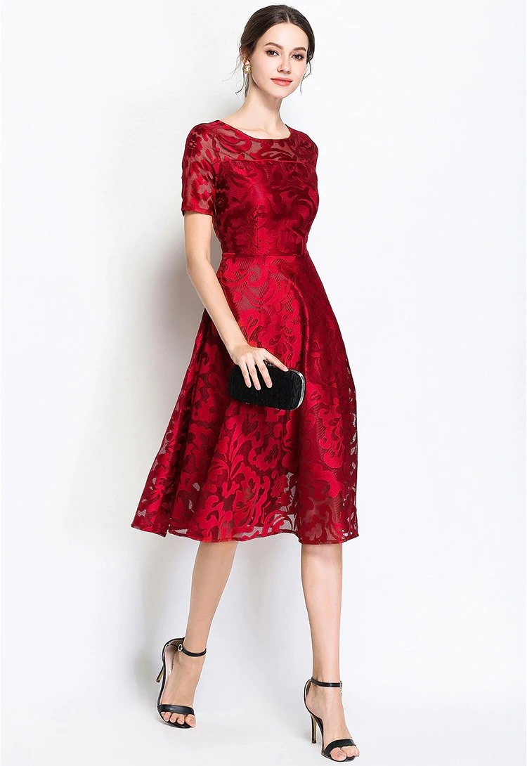 stacy-red-lace-vintage-evening-dress