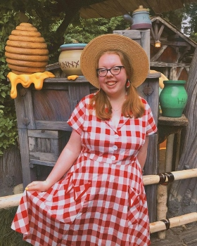 Medley in the Matilda Red Gingham Dress