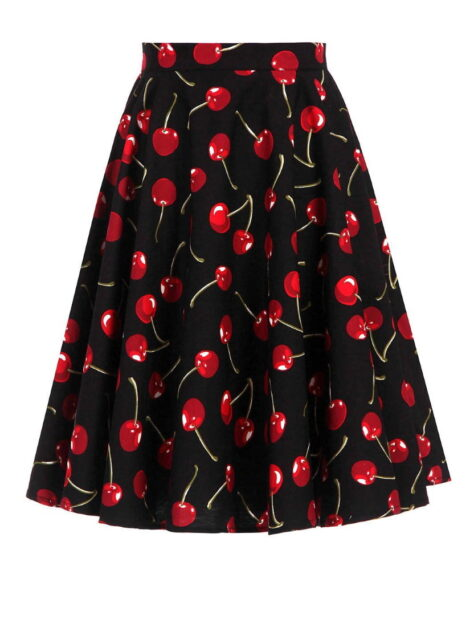 Cherry Cola 50s Style Skirt