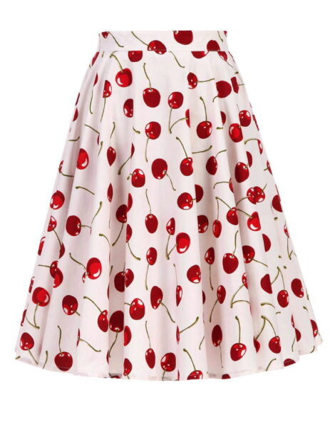Cherry Soda 50s Style Skirt