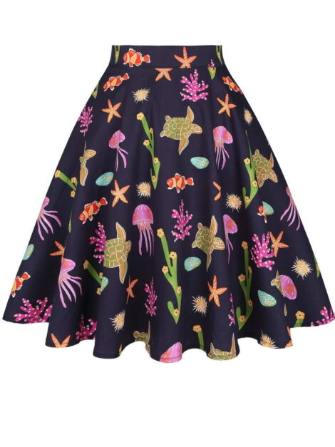 Underwater World Retro Skirt