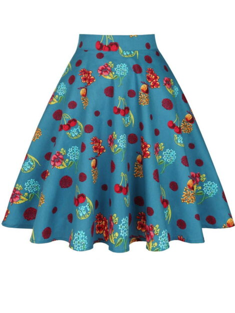 Tutti Fruity Retro Skirt