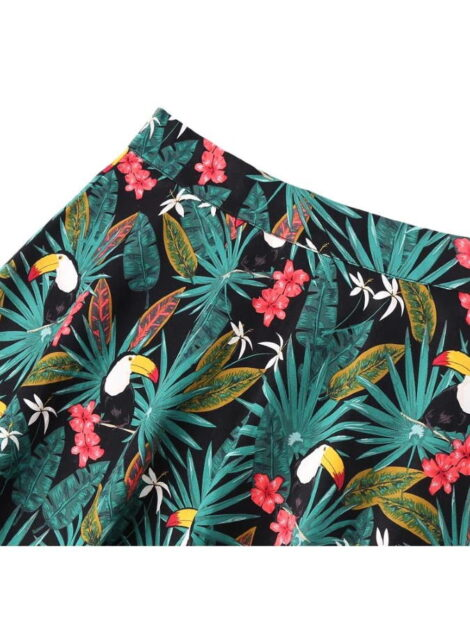 You Too Can Tropical Retro Style Skirt